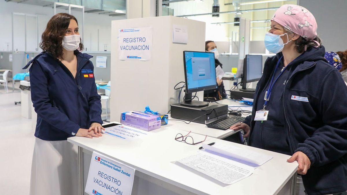 La Junta Electoral rechaza una denuncia de Más Madrid contra folletos de Ayuso dentro del Hospital Zendal
