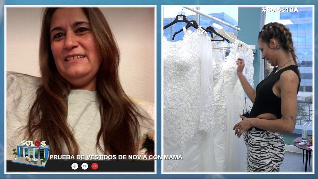 Bea elige vestido de novia