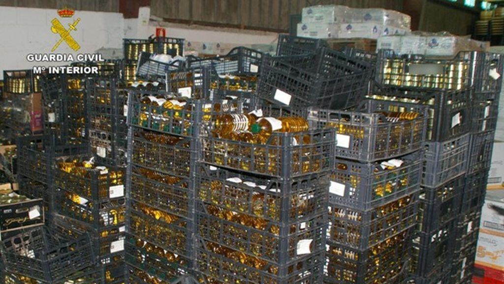 Intervenidas 176 toneladas de alimentos en mal estado en una organización para gente desfavorecida de A Coruña