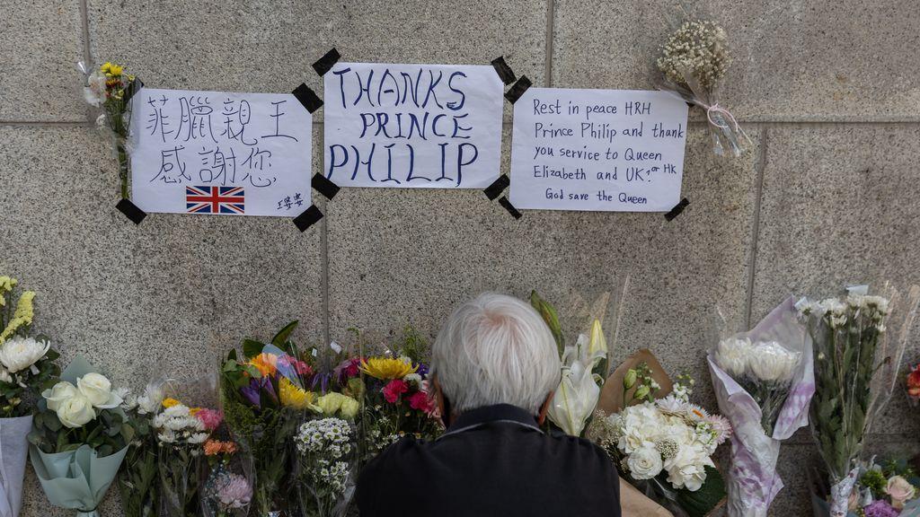 Reino Unido llora la muerte del duque de Edimburgo