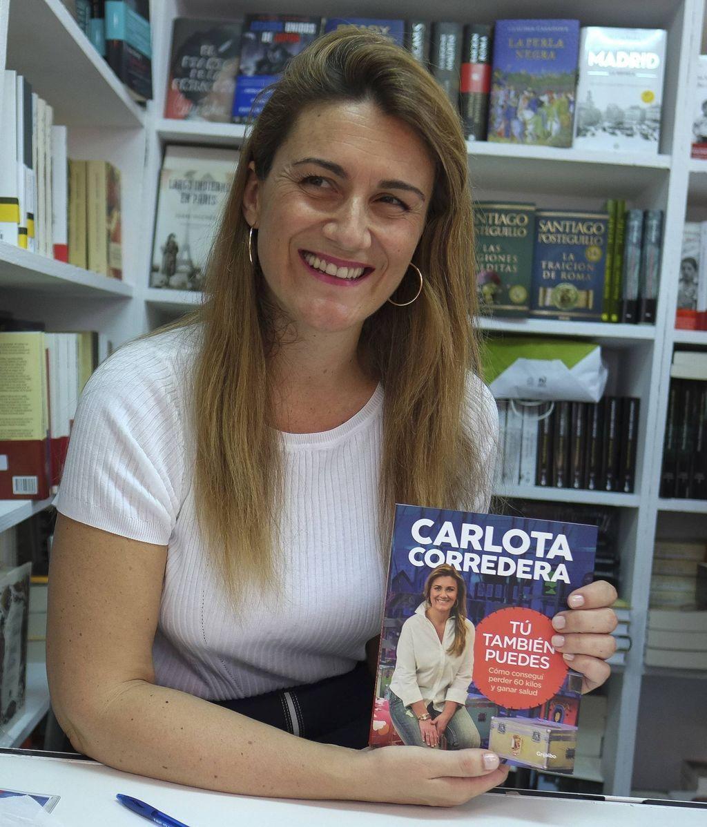 Carlota Corredera, con su libro 'Tú también puedes'