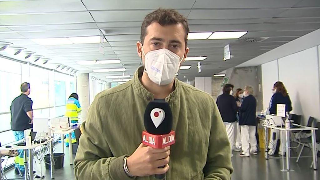 El 56% de los madrileños convocados a vacunarse con Astrazeneca el viernes no lo hicieron