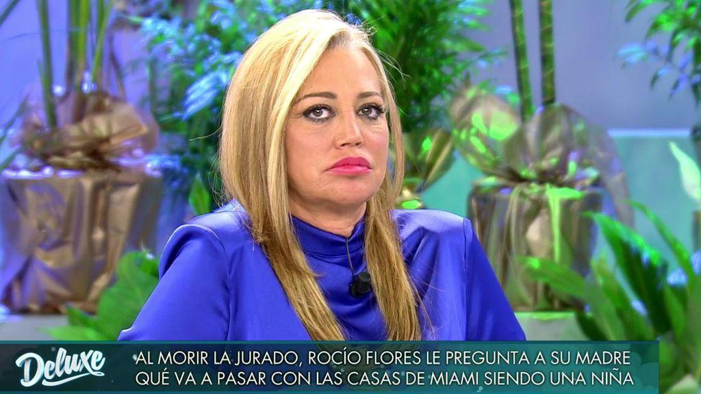 Belén Esteban ha hablado con Rocío Flores.