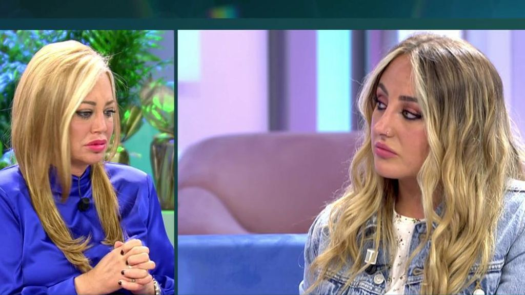 Belén Esteban ha hablado con Rocío Flores