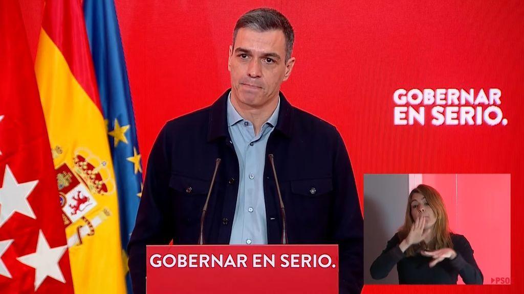 """Pedro Sánchez carga contra las vacunaciones masivas de Madrid: """"Eso no es libertad"""""""