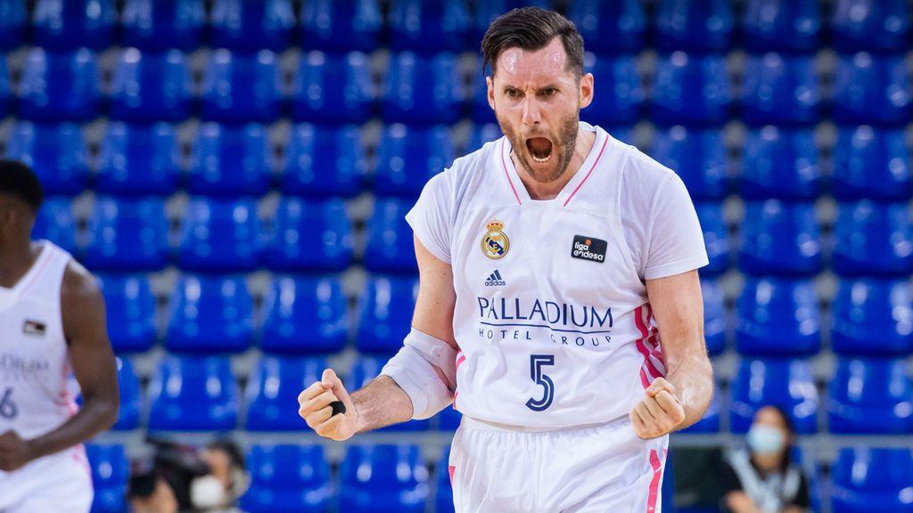 El Madrid de baloncesto se lleva la victoria ante el Barcelona de Gasol