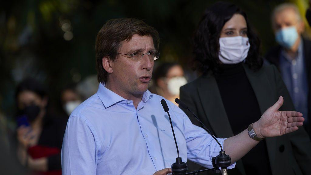 """Elecciones Madrid 2021: Almeida agradece a Sánchez que haga campaña en Madrid: """"Si sigue, sacamos mayoría absoluta"""""""