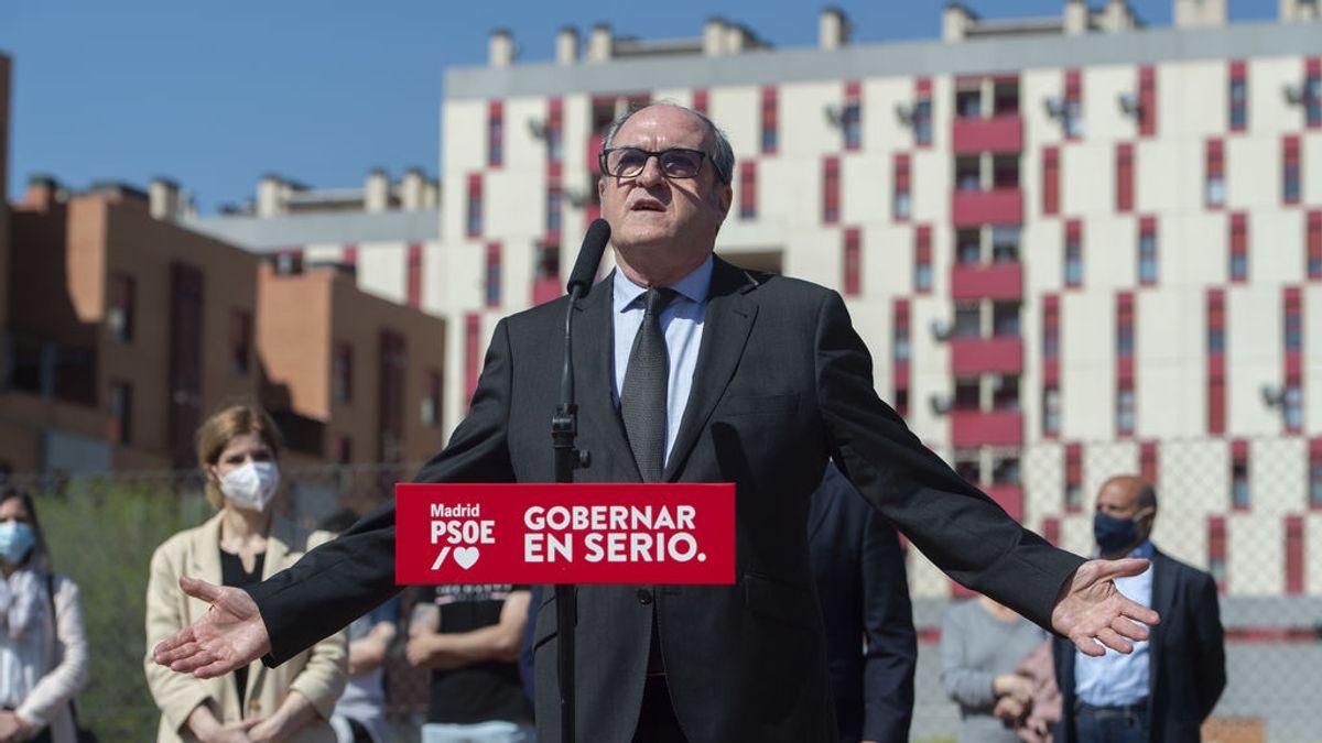 """Elecciones Madrid 2021: Gabilondo acusa a Ayuso de """"apropiarse de la libertad"""" de los madrileños y llama a ir a votar """"masivamente"""""""
