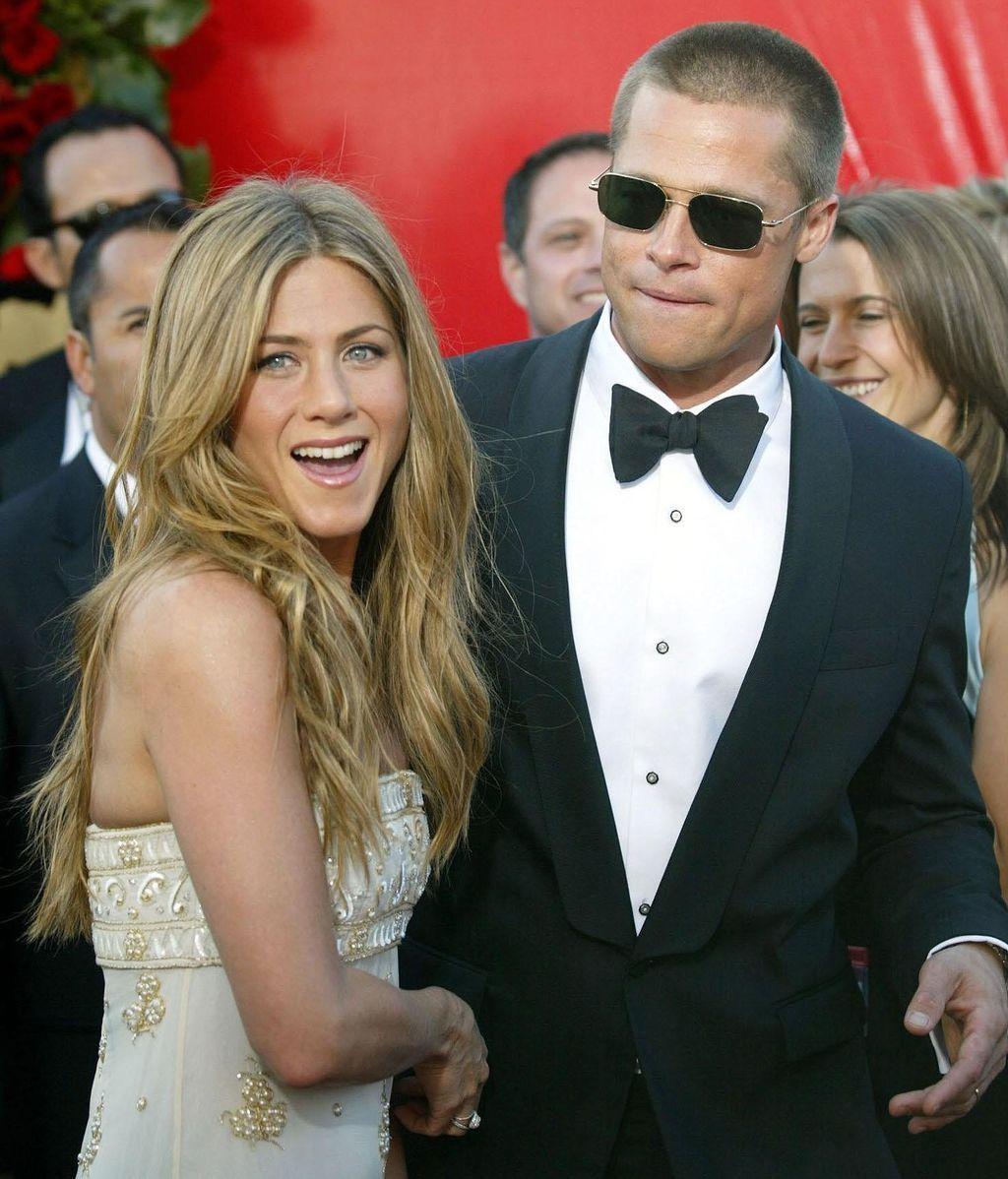 Brad y Jennifer Aniston