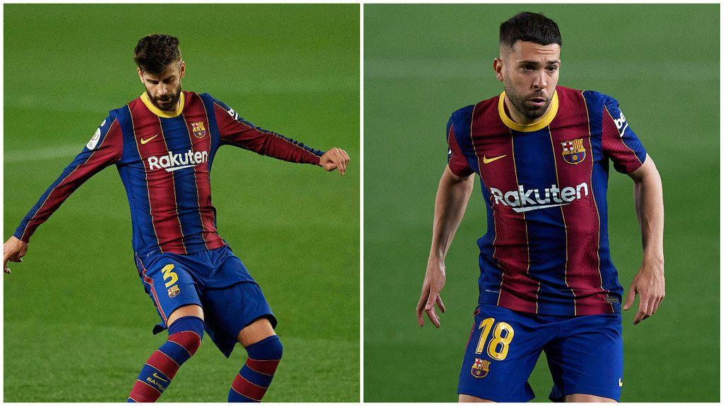 """Piqué a Jordi Alba, sobre la final de la Copa del Rey: """"Tranquilo que la ganaremos"""""""
