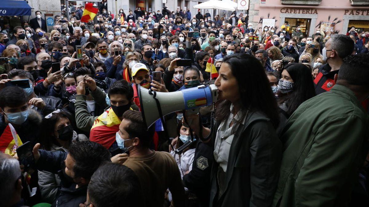 """Vox se reivindica como el partido """"de la calle"""" y carga contra el feminismo """"de progres"""" que """"olvida"""" a las mujeres"""