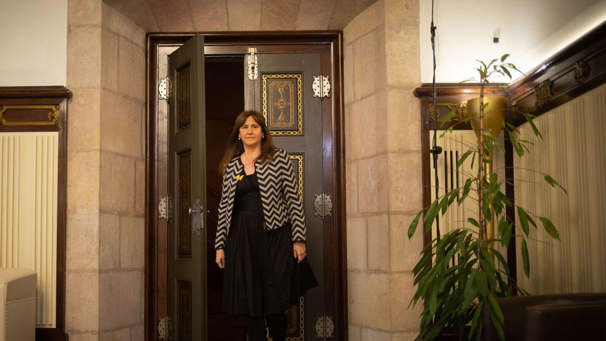 El Supremo envía a Cataluña la investigación a Laura Borrás porque ya no es diputada del  Congreso