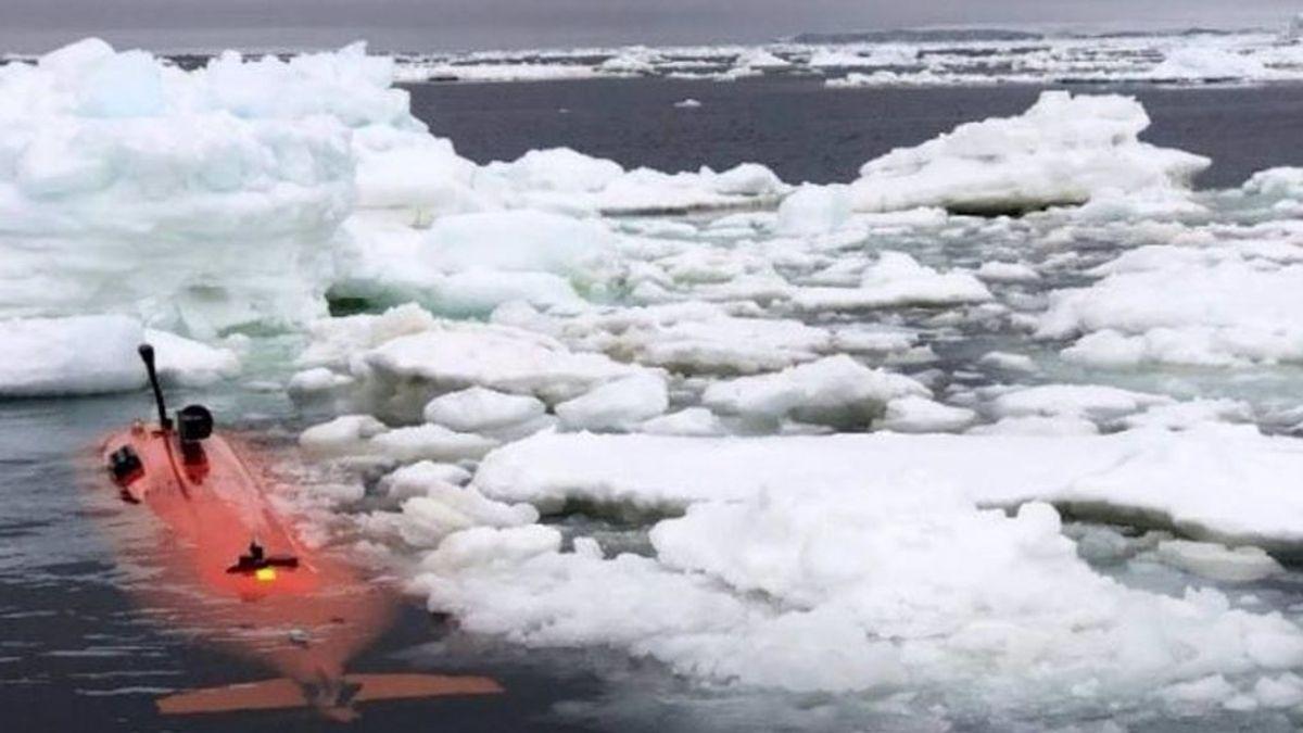 Un robot submarino confirma la amenaza del 'Glaciar del Juicio Final' por su aporte a la subida del nivel del mar