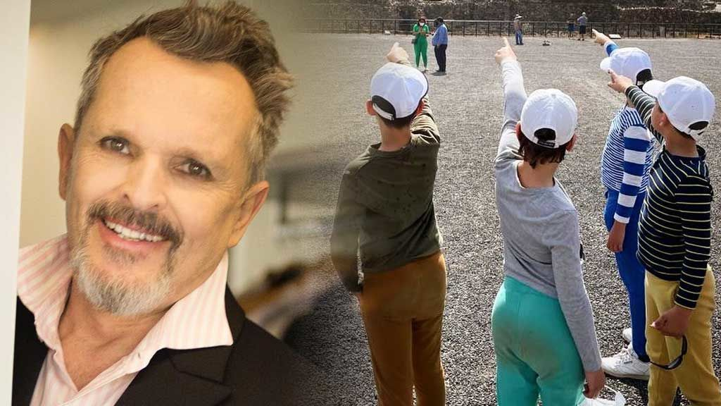 """Miguel Bosé desvela cómo es como padre: """""""