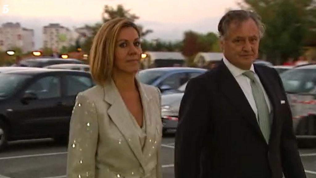 Cospedal y su marido en una imagen de archivo.