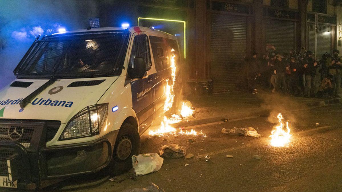 disturbios bcn pablo hasel