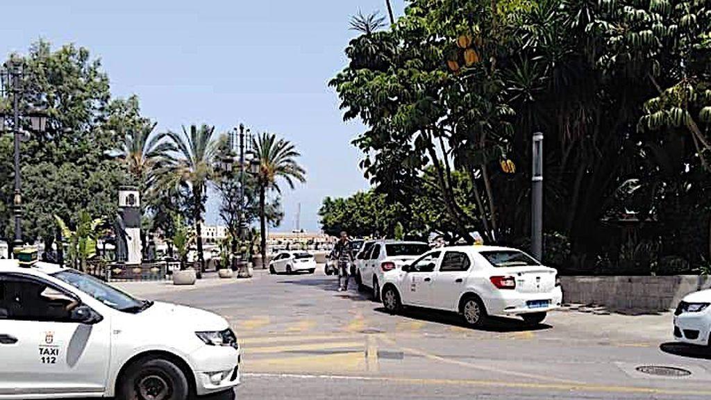 La parada de taxis de Riduan