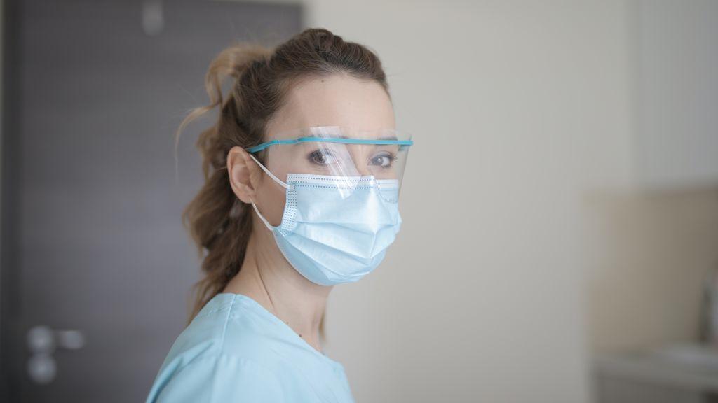 Sanitaria en hospital