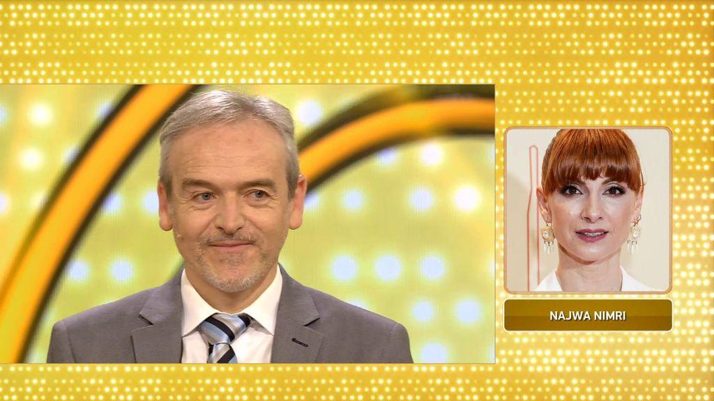 Najwa Nimri da suerte a Manuel y María: ¡clavan la edad de Juan y se llevan 8.000 euros!
