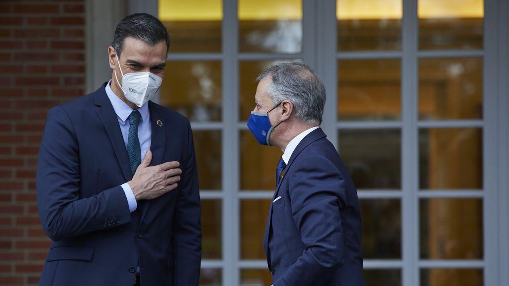 """Urkullu pide a Sánchez la prórroga del estado de alarma porque si no habrá """"momentos delicados"""""""