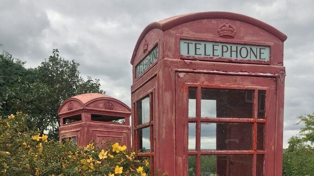 cabina inglesa oxidada
