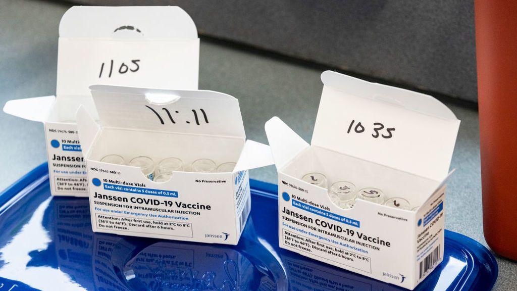 Este martes llegan las primeras vacunas de Janssen