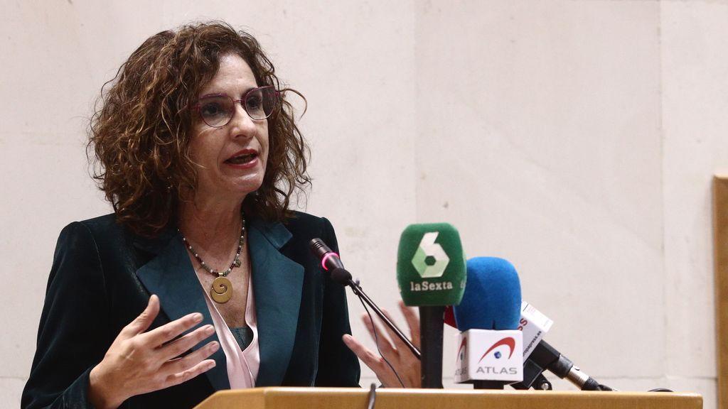 La ministra de Hacienda espera que las subidas de Sociedades, Patrimonio y Sucesiones entren en vigor en 2022