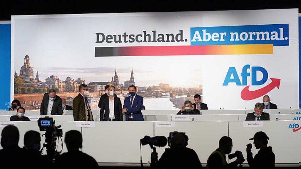 """El programa electoral de la AdF: salir de la UE , servicio militar y un """"blue Deal"""""""