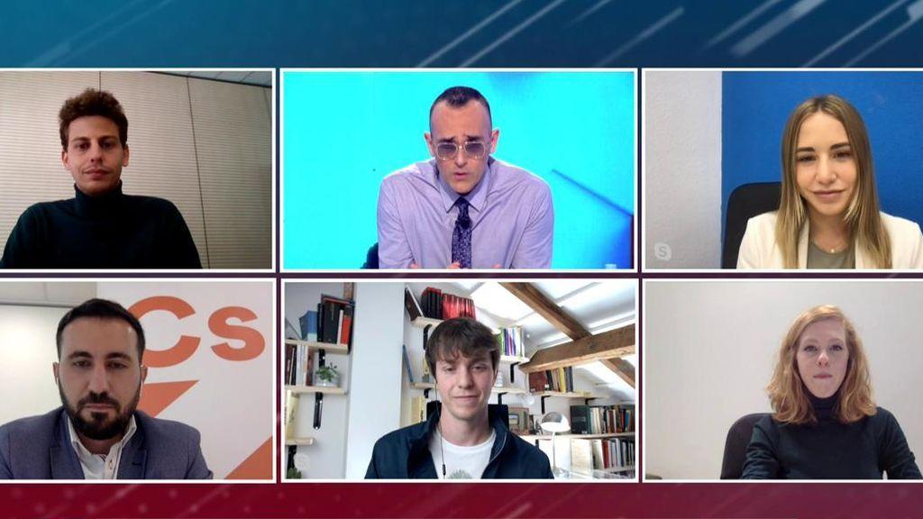 Los otros cinco candidatos a las elecciones madrileños