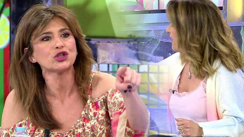 """Un comentario de Laura Fa sobre Rocío Carrasco provoca el caos en 'Sálvame': """"¡No juego con esa manipulación!"""""""