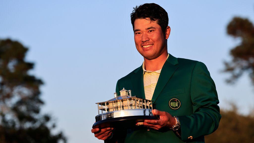 Matsuyama, con la chaquete verde de Augusta