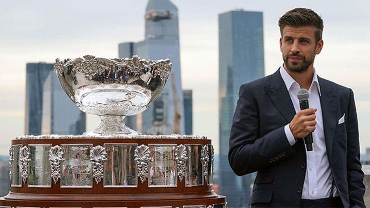 Piqué amplía sus negocios: la Davis se jugará este año en Madrid, Innsbruck y Turín