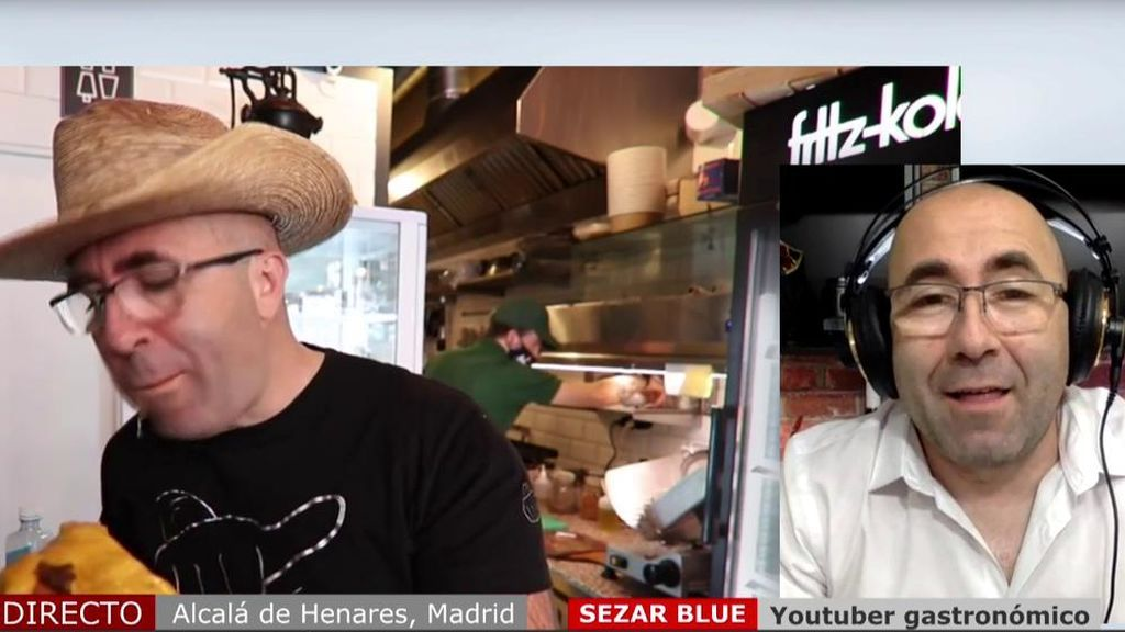 El youtuber Sezar Blue