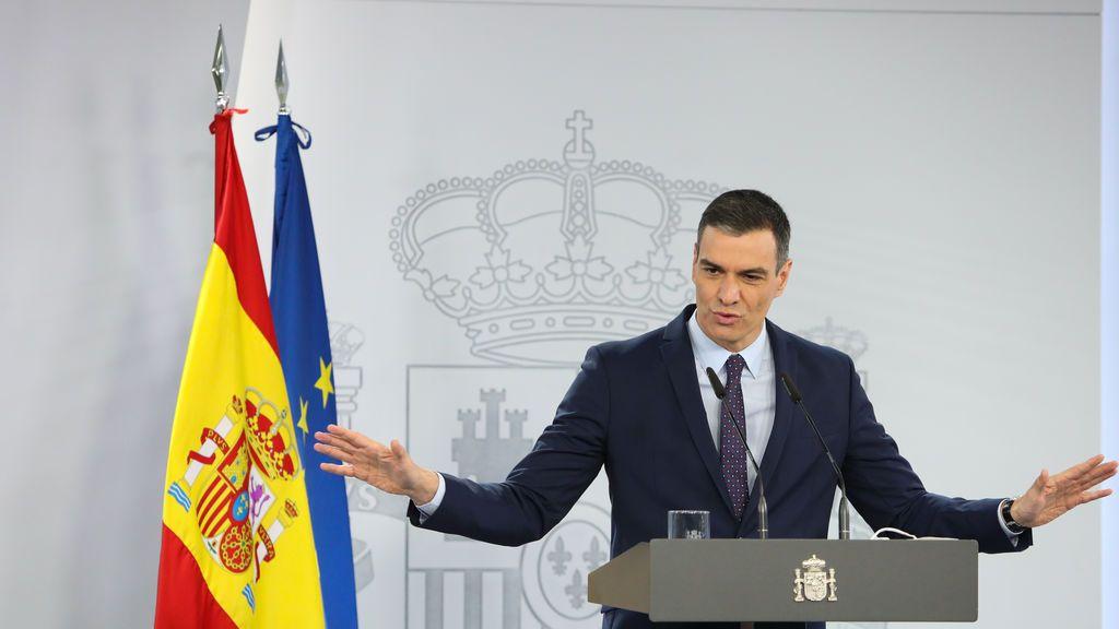 Sánchez confía en la vacuna y el Consejo Interterritorial de Salud para afrontar el fin del estado de alarma