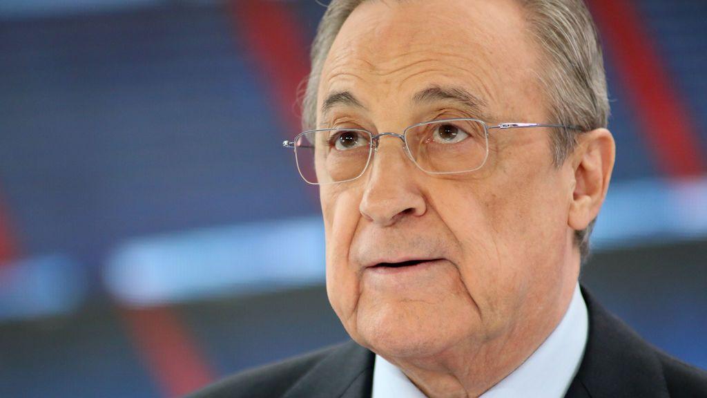 Florentino Perez, presidente del Real Madrid sin oposición hasta 2025