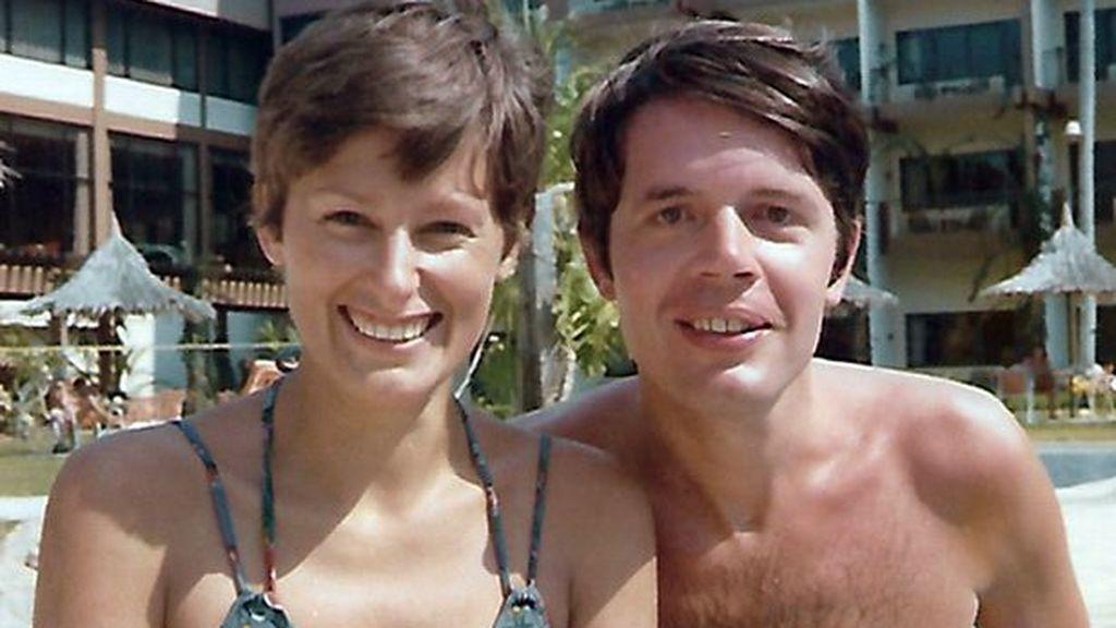 El verdadero Herman Knippenberg, con su primera esposa