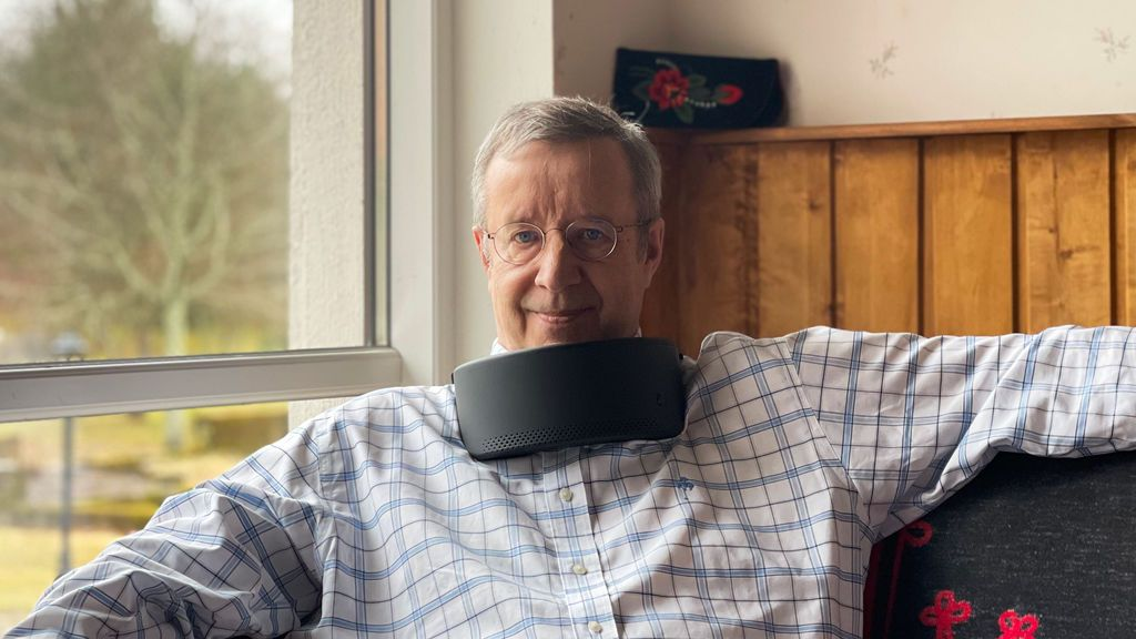 Un collar que purifica el aire como sustituto de la mascarilla: ¿es realmente eficaz y seguro?