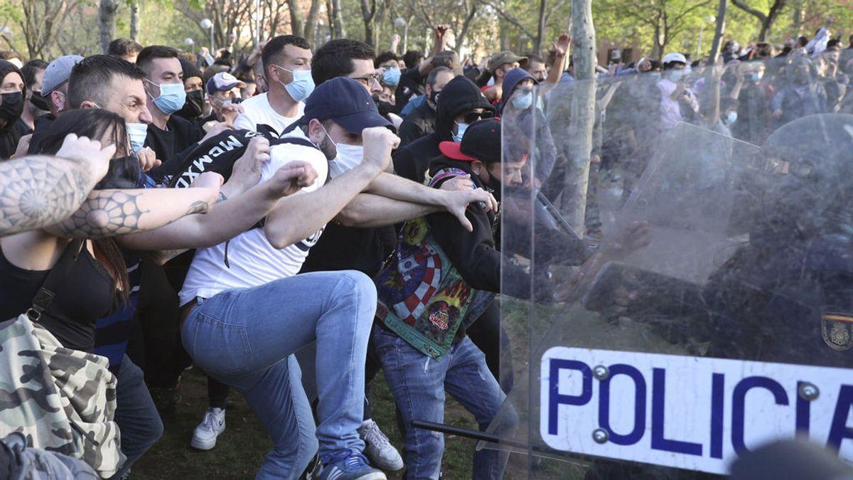 En libertad el joven detenido este lunes por participar en los altercados en el mitin de Vox en Vallecas