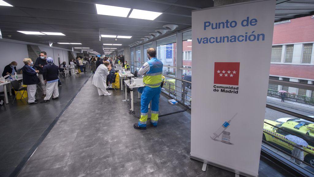 Madrid supera el millón de vacunados con al menos una dosis