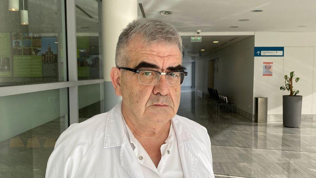 """Pere Domingo, responsable de Covid en el Hospital Sant Pau de Barcelona: """"Los pacientes de la cuarta ola empeoran más rápido"""""""