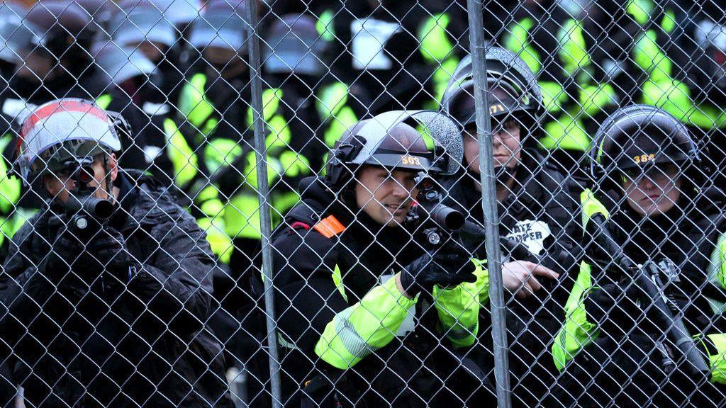 La Guardia Nacional fue desplegada ante el intento de tomar una comisaría en Minneápolis