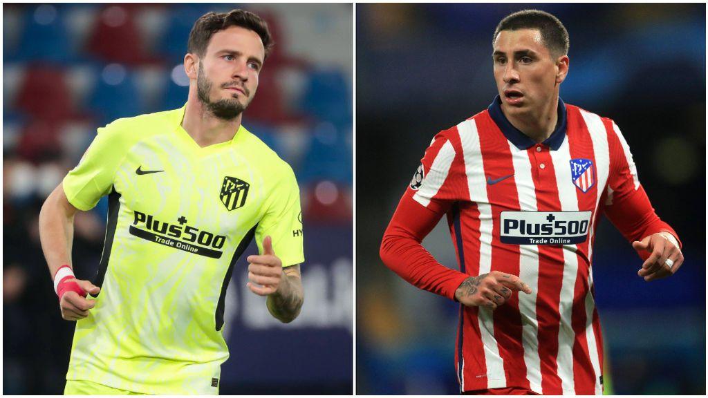 Saúl y Giménez podrían dejar el Atlético en verano.