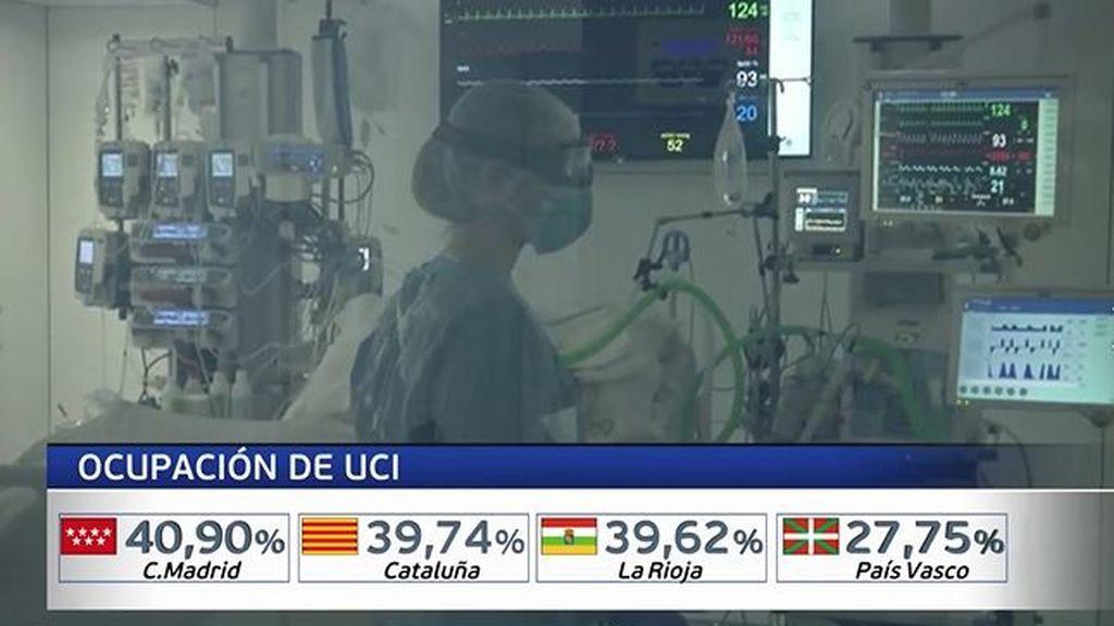 Las UCI de los hospitales españoles se llenan a las puertas de la cuarta ola