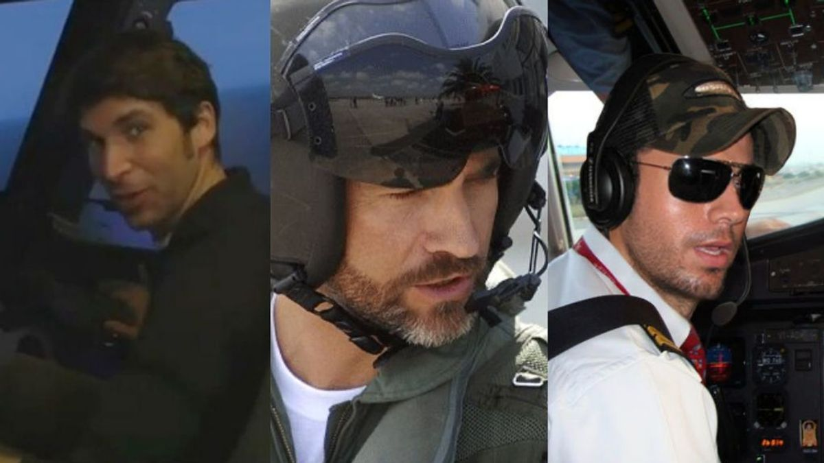 Famosos de Altos Vuelos: Cayetano y otros VIPs que se sacaron el título de piloto