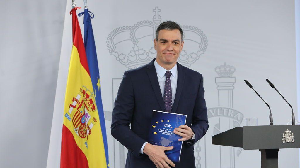 """Sánchez anuncia que este mes presenta a la UE el Plan de Recuperación: """"Nuestra mayor oportunidad en los últimos 37 años"""""""
