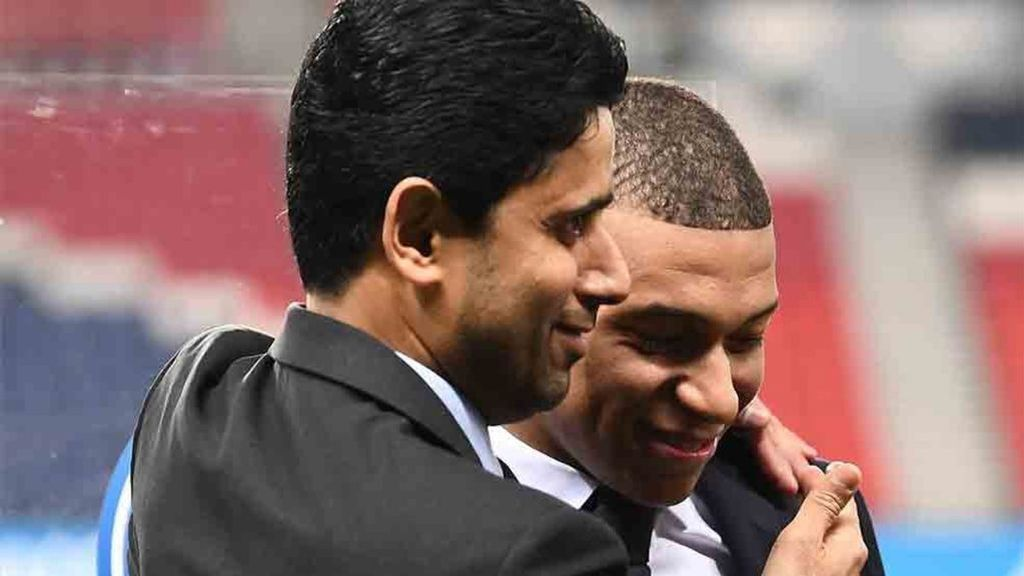 Al Khelaifi avisa a Mbappé ante su idea de no renovar y jugar en el Real Madrid