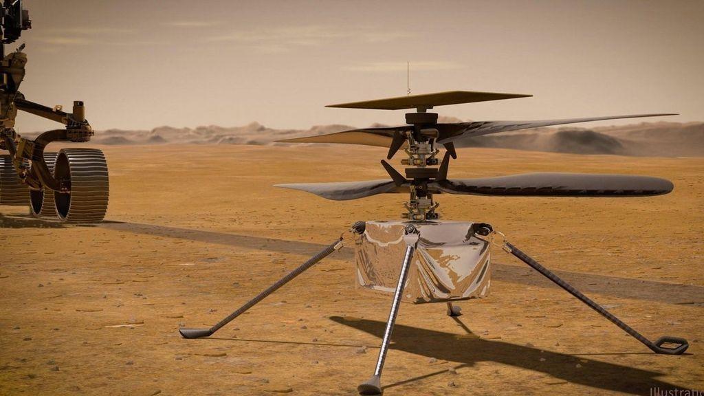 ¿Por qué ha aplazado la NASA el vuelo del helicóptero Ingenuity en Marte?