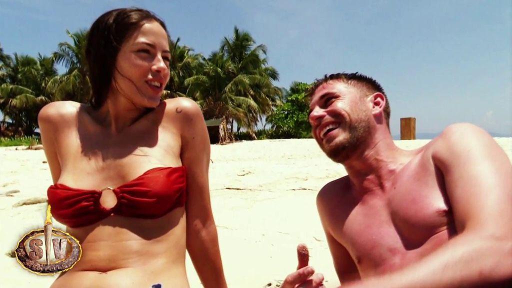 El tonteo entre Melyssa y Tom acaba con una petición de él para cuando salgan de 'Supervivientes'
