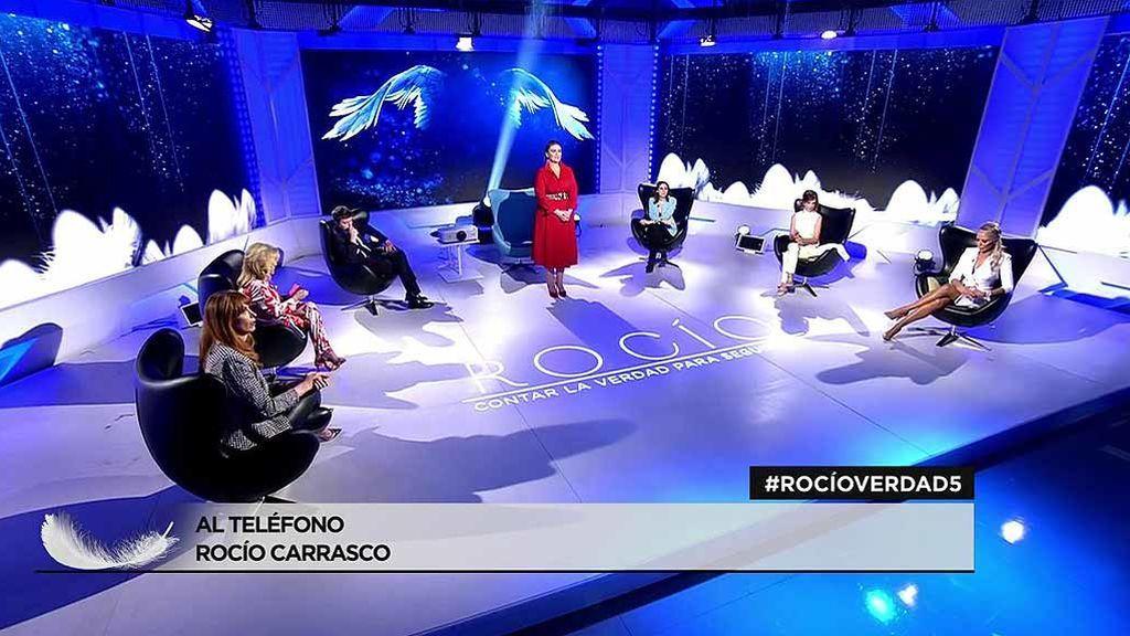 Los colaboradores del programa 'Rocío, contar la verdad para seguir viva'
