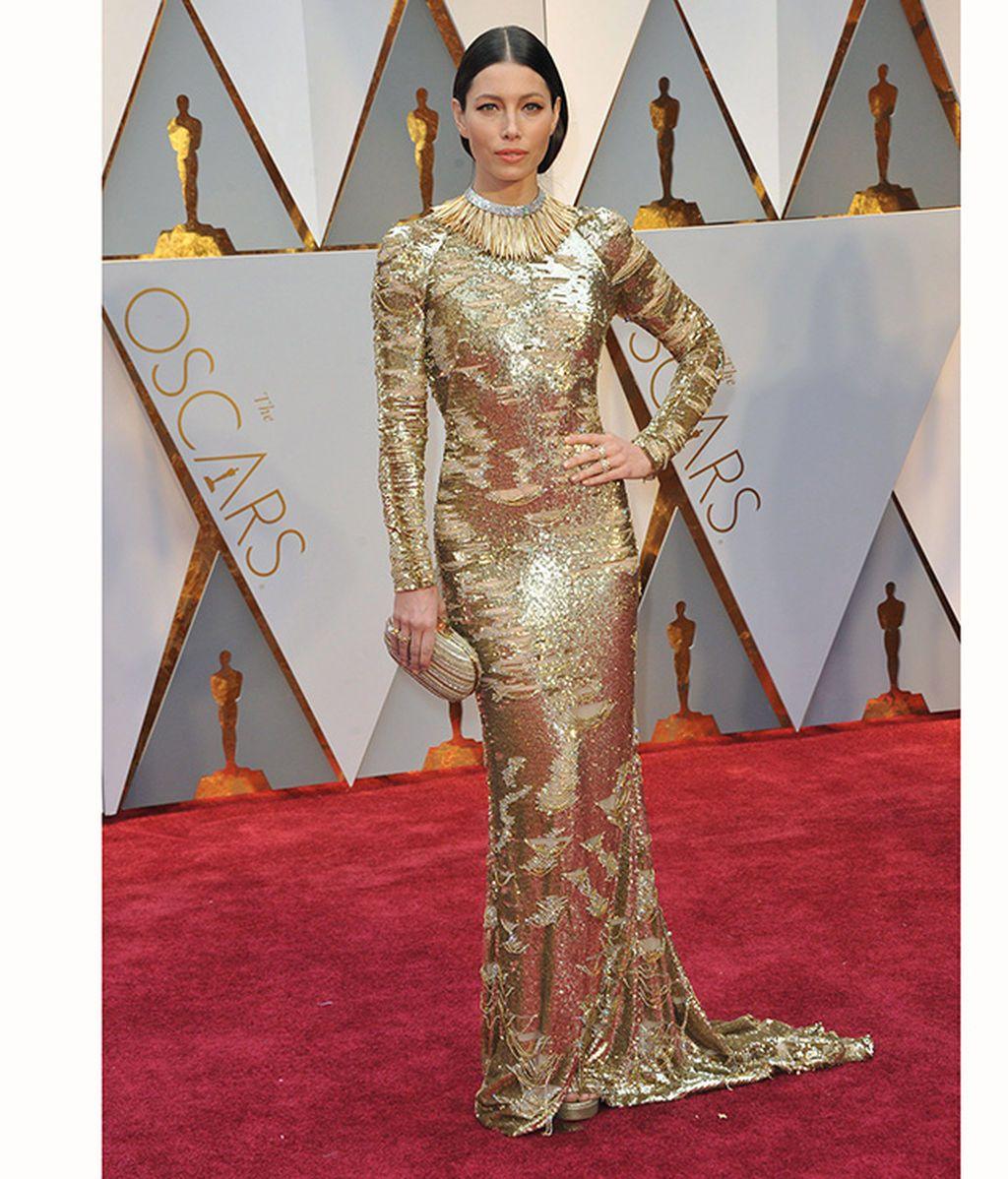 Jessica Biel en los Oscar de 2017